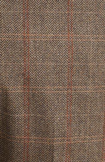 Alternate Image 3  - Topman Slim Fit Check Tweed Trousers