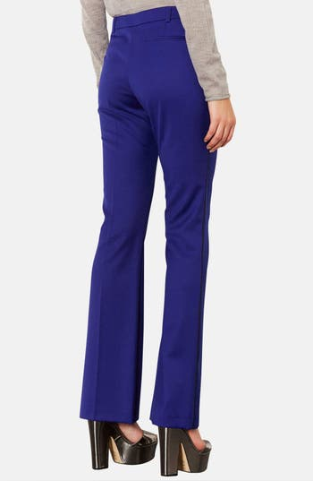 Alternate Image 2  - Topshop Piped Flare Leg Trousers