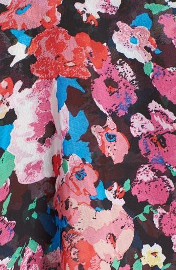 Alternate Image 5  - Mimi Chica 'Foxy' Back Cutout Layered Skater Dress (Juniors)