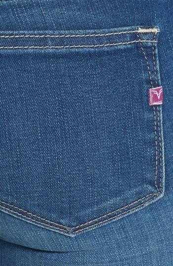 Alternate Image 3  - Vigoss Skinny Jeans (Medium Wash)