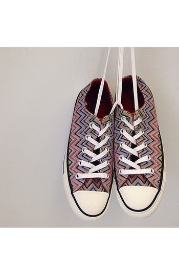 x Missoni Chuck Taylor<sup>®</sup> All Star<sup>®</sup> Low Sneaker,                             Alternate thumbnail 5, color,
