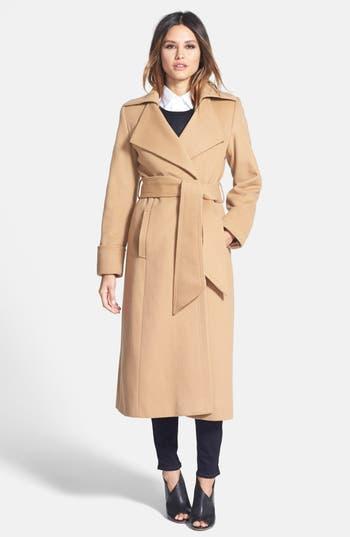 George Simonton 'Hollywood' Long Wrap Coat (Regular & Petite)