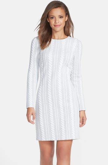 Maia Cable Knit Sweater Dress Nordstrom