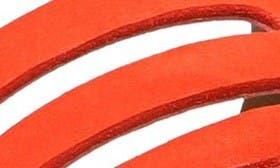 Tangerine Nubuck swatch image selected