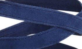 Bright Blue Suede swatch image