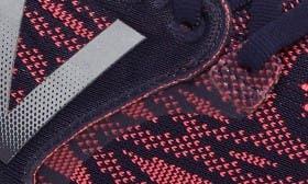 Navy/ Pink Denim swatch image