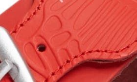 Fiery Red Leather swatch image