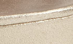 Platinum Gold Leather swatch image