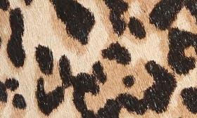 Cheetah Print Calfhair swatch image