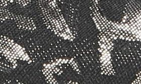 Metallic Black Floral Brocade swatch image