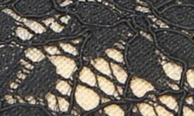 Black/ Black Lace swatch image