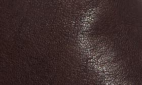 Mahogany Nubuck Leather swatch image