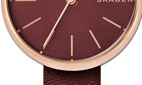 Red/ Rose Gold swatch image
