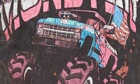 Black Monster World swatch image