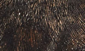 Black Leopard Printed Leather swatch image