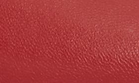 Crimson Red Leather swatch image
