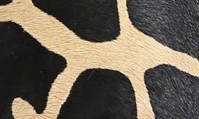 Black/ Leopard Brahma Hair swatch image