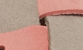 Pink/ Grey Leather swatch image