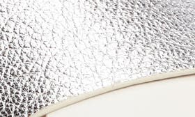 Silver/ Silver Leather swatch image