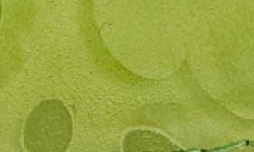 Lime Printed Nubuck swatch image