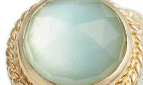 Green Amethyst/ Gold swatch image