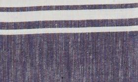 Ivory Egret- Navy Stripe swatch image