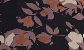 Black/ Lilac Floral Print swatch image