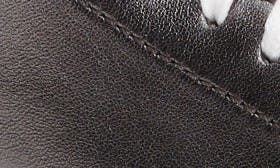 Metallic Gunmetal Leather swatch image