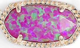 Fuchsia Kyocera Opal/ Gold swatch image