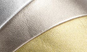 Metallic Multi Faux Leather swatch image