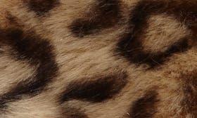 Leopard Print Faux Fur swatch image