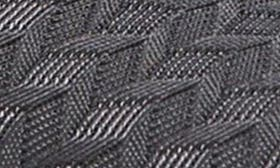 Grey Cross Knit Fabric swatch image