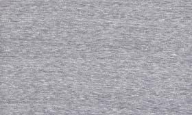 Grey Medium Heather - Burgundy swatch image