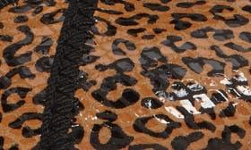 Tan Leopard Suede swatch image