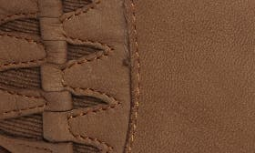 Cognac Washed Nubuck Leather swatch image