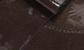 Brown And Black Patent Leather swatch image