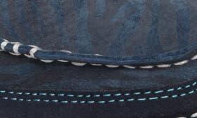 Navy Eclipse/ Blue Zebra Suede swatch image