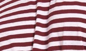 Red Tannin White Sara Stripe swatch image