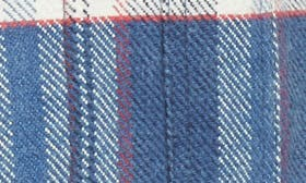 Indigo/ Red Plaid swatch image
