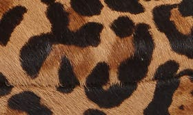Natural Leopard Hair Calf swatch image