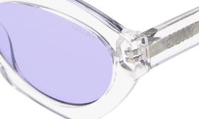 Clear/ Purple swatch image