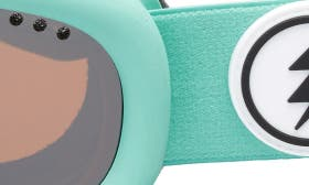 Turquoise/ Silver Chrome swatch image