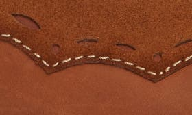 Brown/ Deep Maroon Leather swatch image