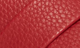 Red Faux Leather swatch image