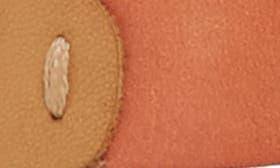 Mango/ Sand Leather swatch image