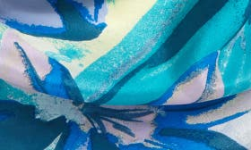 Teal Mirror Floral swatch image