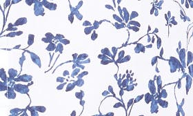 White/ Blue Floral swatch image