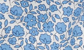 Lake Blue/ Floral Toile swatch image