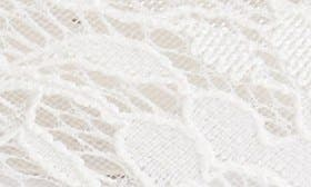 Ivory Mesh Lace swatch image
