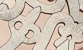 Silver Leather swatch image
